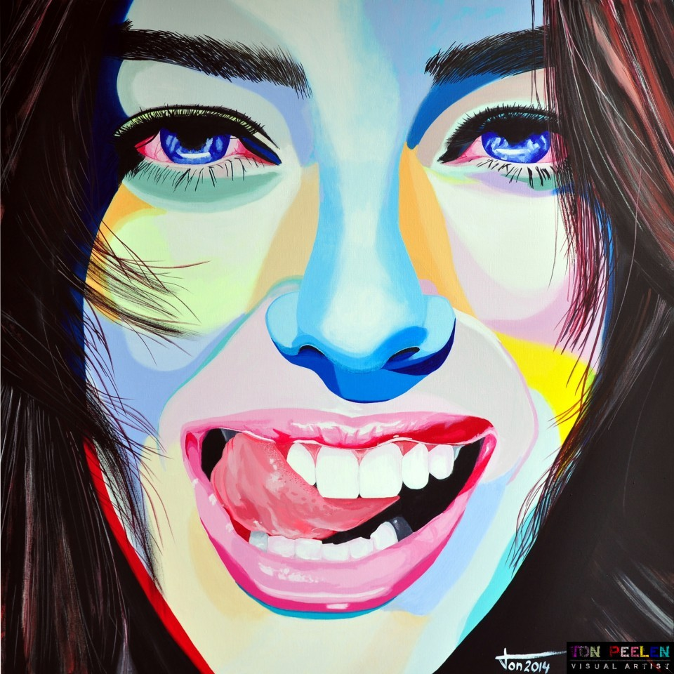 Emily Didonato, portrait by Ton Peelen