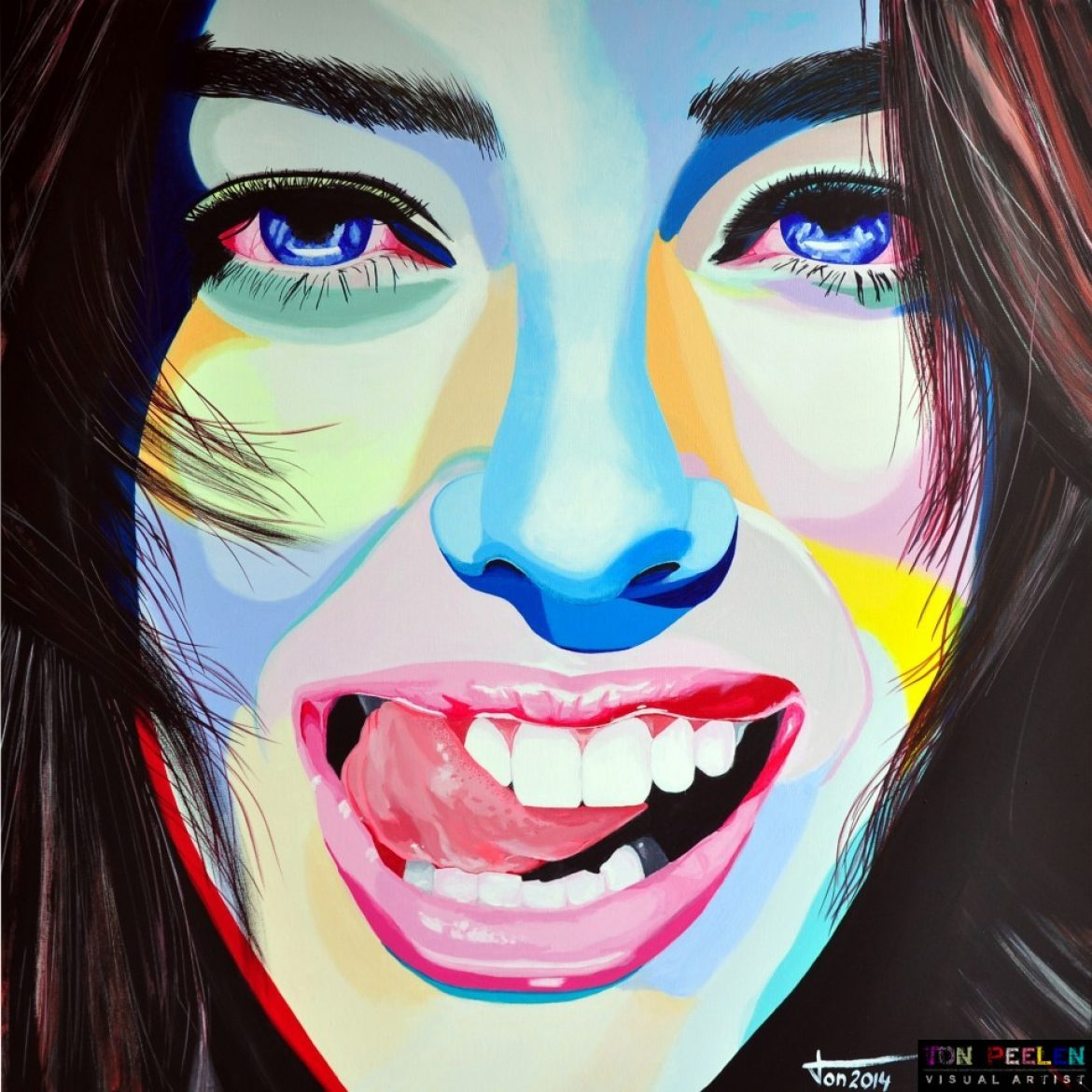 Painting of Emily Didonato SOLD