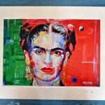 Art Print of Frida Kahlo