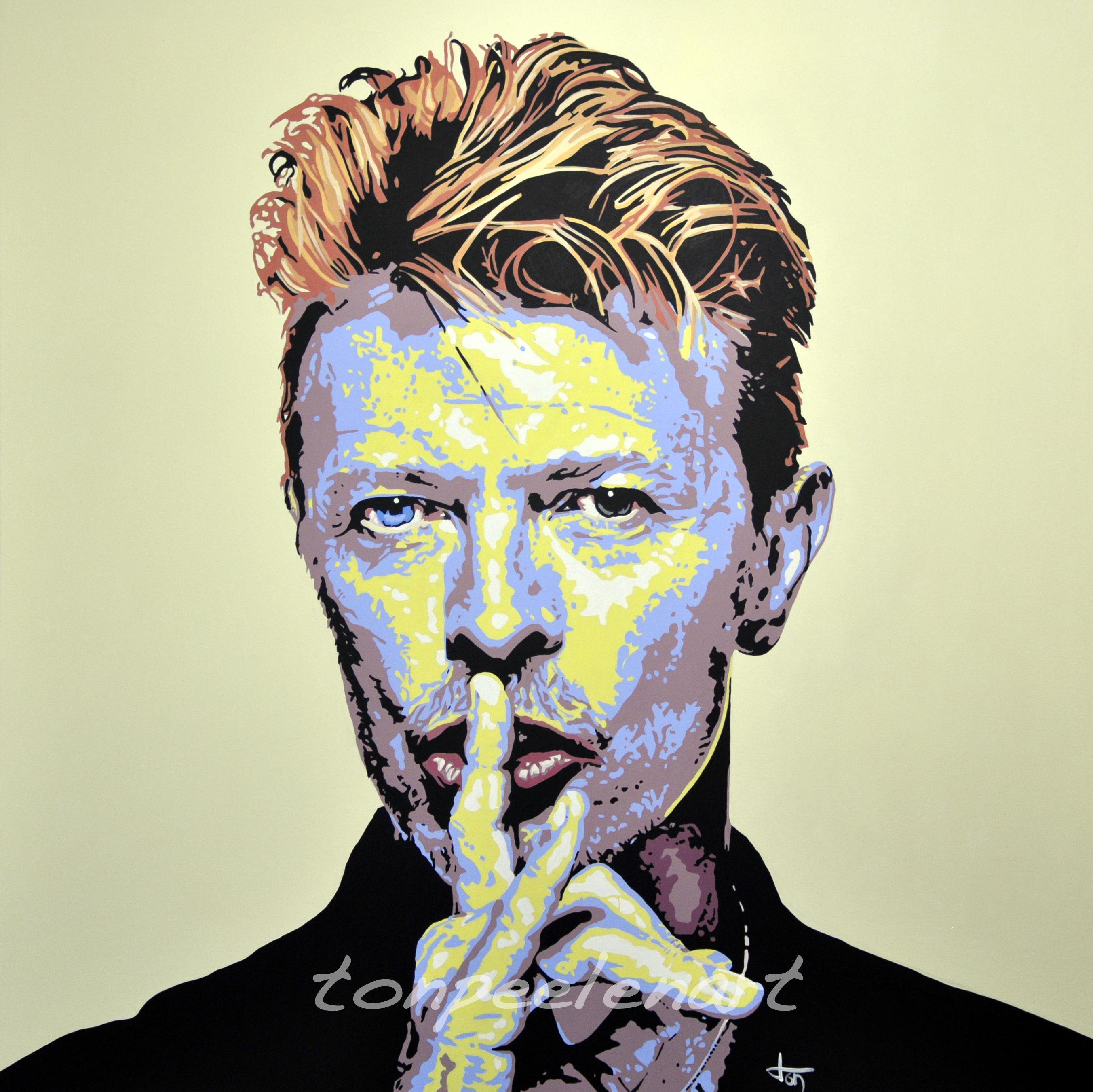 David Bowie by Ton Peelen